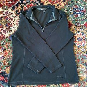 Eddie Bauer 1/4 Zip Fleece Petite Size L NWOT
